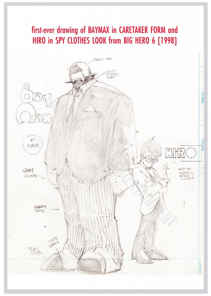 BIG HERO SIX Origins 3 - Baymax In Caretaker Hiro in Spy Look