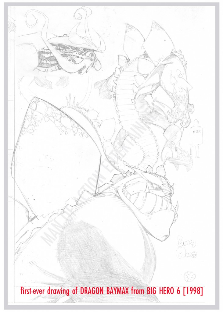 BIG HERO SIX Origins 6 - Dragon Baymax